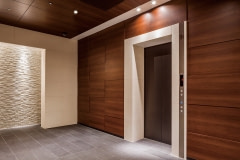Lobby Walls Wrapped with Altyno Architectural Film