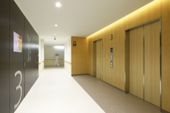 Hospital Walls Wrapped with Altyno Architectural Film