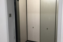 Altyno architectural film refreshed this elevator cab in just a matter of hours.