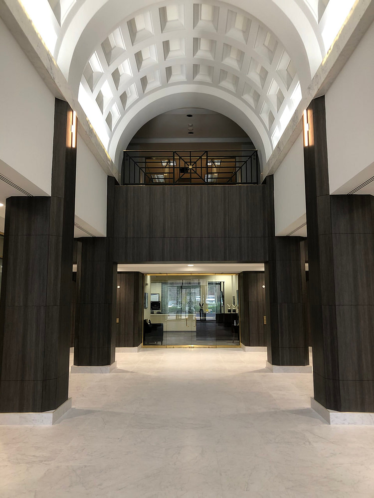 Architectural Fusions Lobby Renovation Using LW NW068