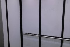Belbien vinyl woodgrain film was installed in elevator cabs for a client in the Washington D.C. area.