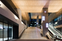 Lobby Walls and Ceilings Wrapped with Altyno Architectural Film